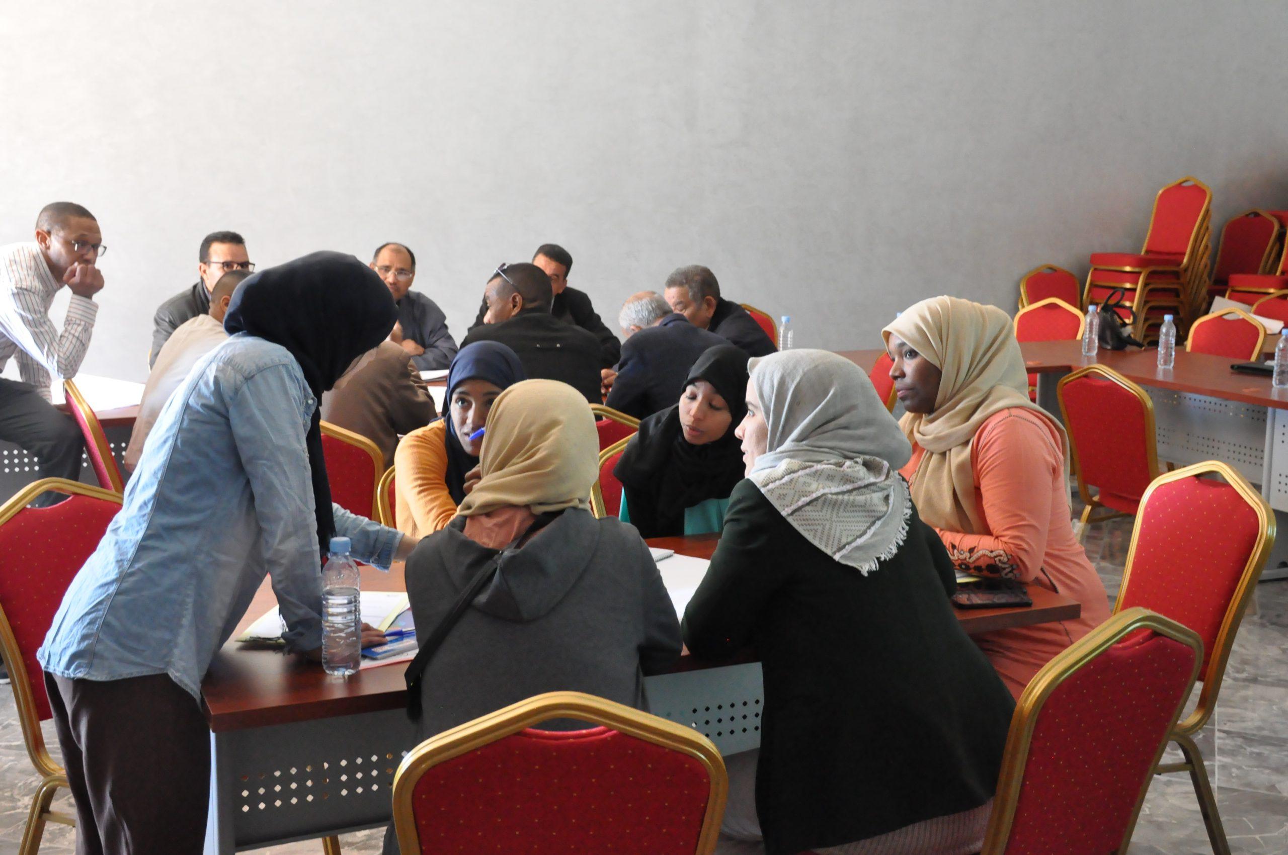 Atelier de formation, gestion des conflits et contrat de nappe