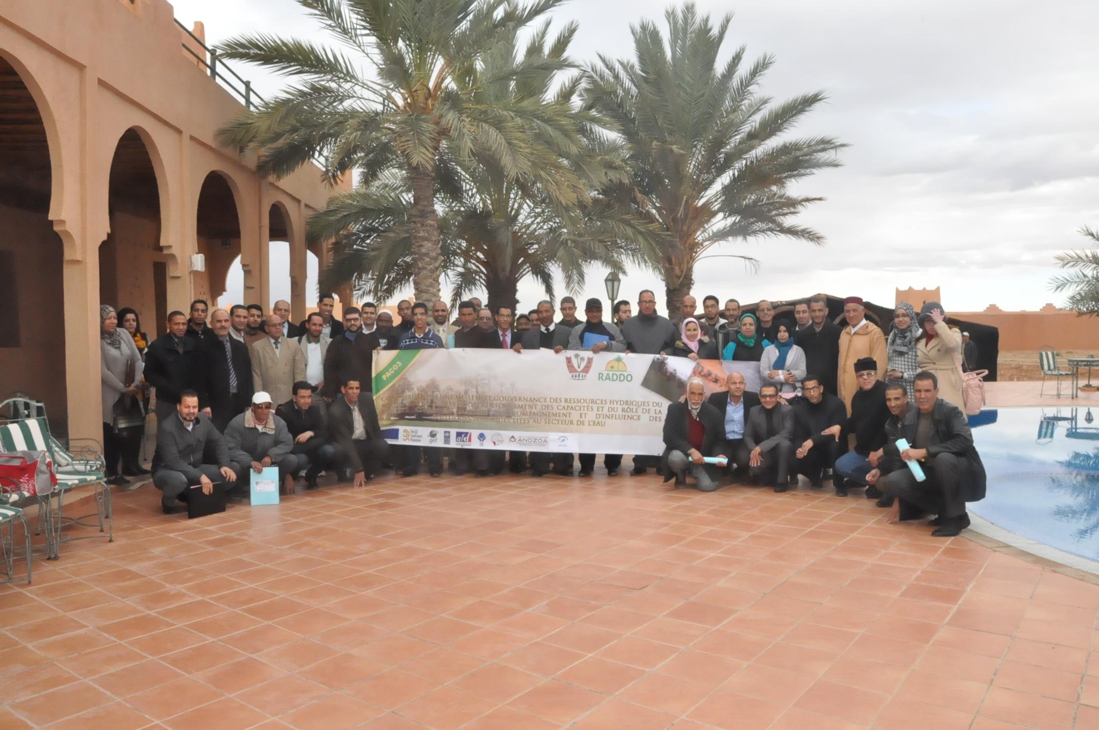 Gouvernance des ressources hydriques en milieu oasien