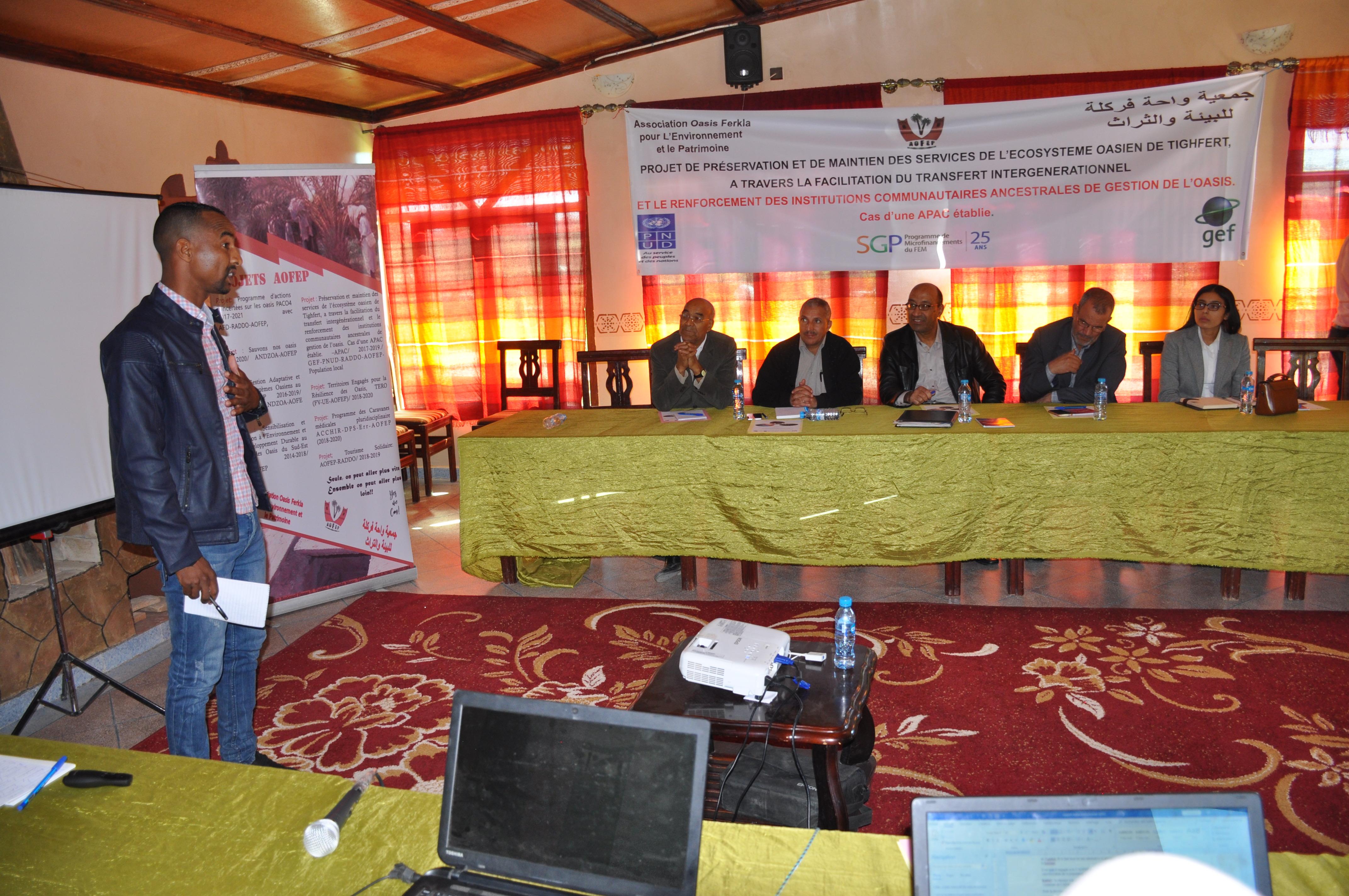Atelier institutionnel et briefing de presse (APAC)
