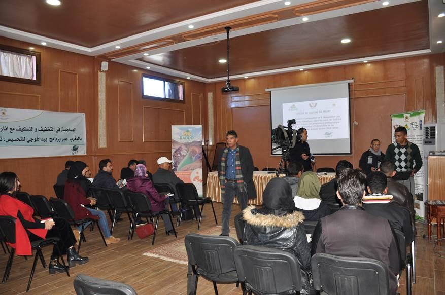 Mobilisation de la société civile oasienne pour la lutte contre les changements climatiques dans les oasis de Sud-Est marocain